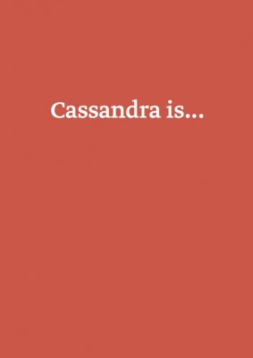 Cassandra title page